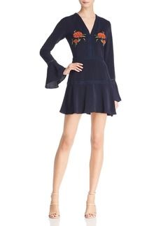 findersKEEPERS Finders Keepers Etude Floral-Embroidered Dress