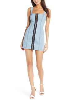 findersKEEPERS Finders Keepers Evelyn Denim Minidress