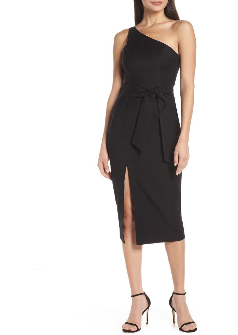 0d2f4ba56 findersKEEPERS Finders Keepers Francis One-Shoulder Sheath Dress ...