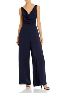 findersKEEPERS Finders Keepers Gabriella Cowl-Neck Wide-Leg Jumpsuit