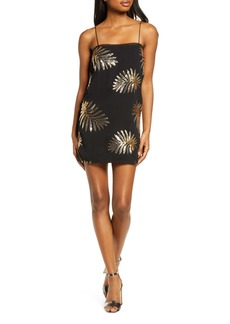 findersKEEPERS Finders Keepers Glimmer Sequin Minidress