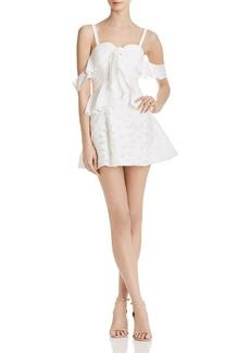 findersKEEPERS Finders Keepers Kindred Cold-Shoulder Mini Dress