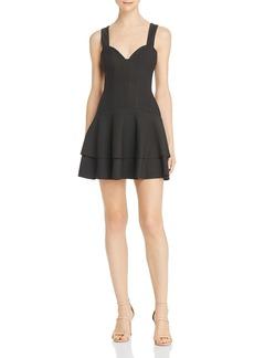 findersKEEPERS Finders Keepers Lines Mini Dress