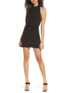 findersKEEPERS Finders Keepers Mae Halter Neck Minidress