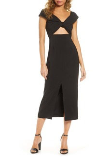 findersKEEPERS Finders Keepers Mae Slit Midi Dress