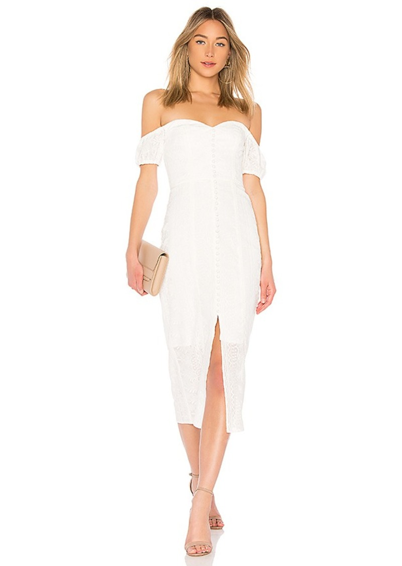 9eb8ca251f findersKEEPERS Finders Keepers Maella Midi Dress