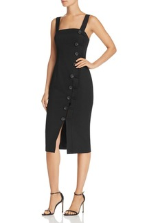 findersKEEPERS Finders Keepers Mila Button-Front Dress