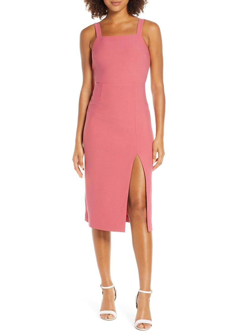 findersKEEPERS Finders Keepers Palermo Sheath Dress