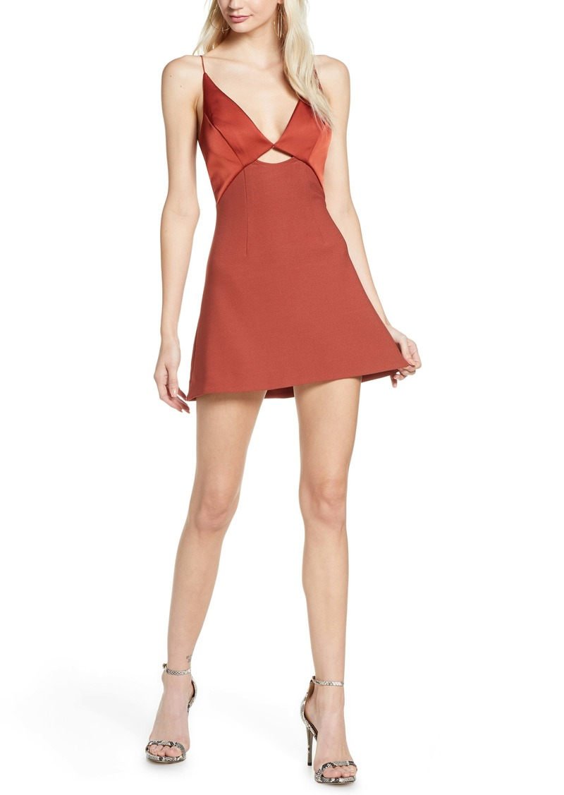findersKEEPERS Finders Keepers Paradise Mini A-Line Dress