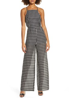 findersKEEPERS Finders Keepers Picnic Strappy Back Wide Leg Jumpsuit