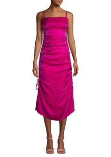 findersKEEPERS Finders Keepers Ruched Midi Dress