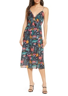 findersKEEPERS Finders Keepers Sally Floral Midi Sundress