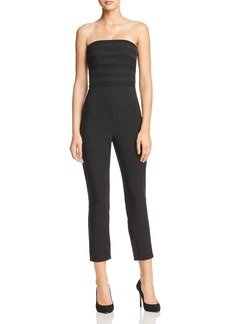 findersKEEPERS Finders Keepers Sangria Strapless Jumpsuit