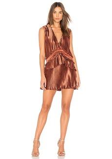 findersKEEPERS Finders Keepers Stardust Ruffle Mini Dress