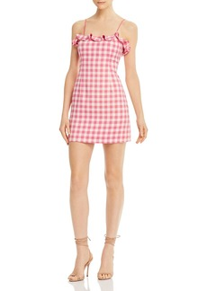 findersKEEPERS Finders Keepers Thalia Ruffled Gingham Mini Dress