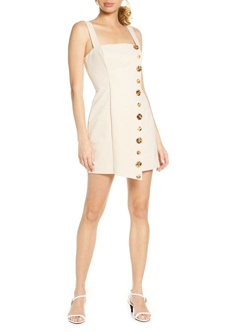 findersKEEPERS Finders Keepers Tia Button Front Minidress