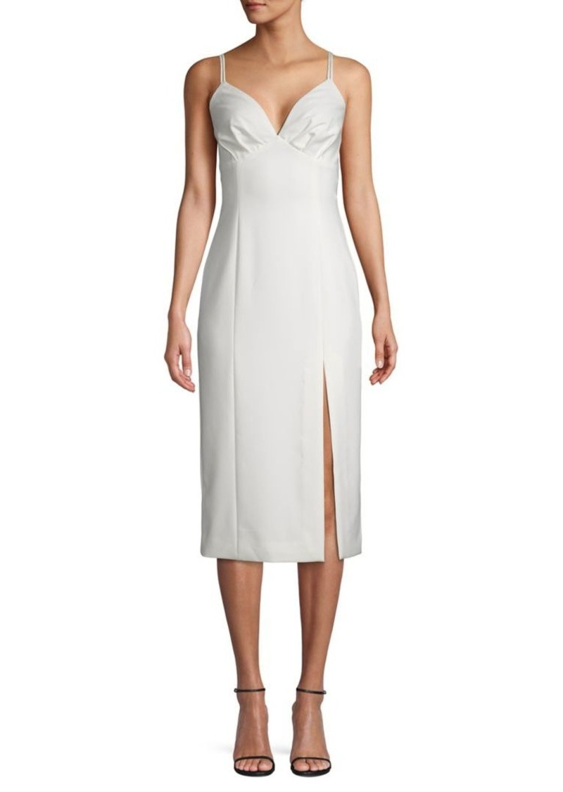 findersKEEPERS Finders Keepers V-neck Midi Dress
