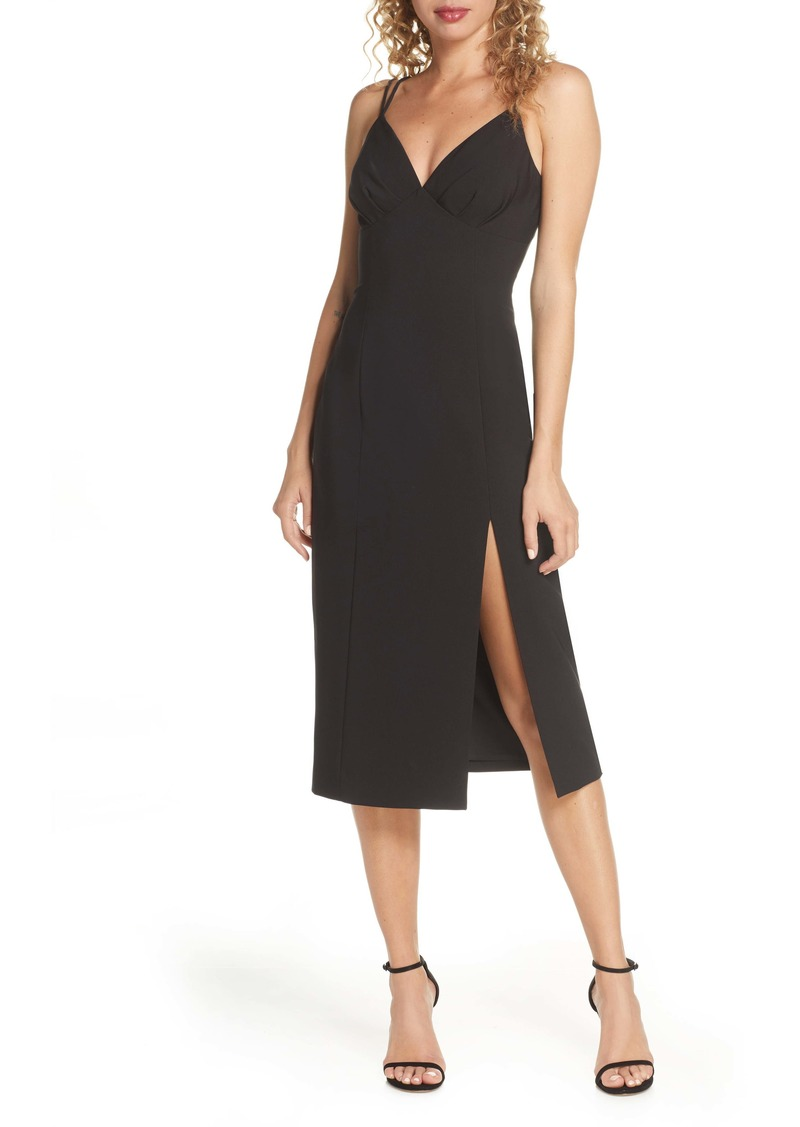findersKEEPERS Finders Keepers Victoria Dual Strap Midi Dress