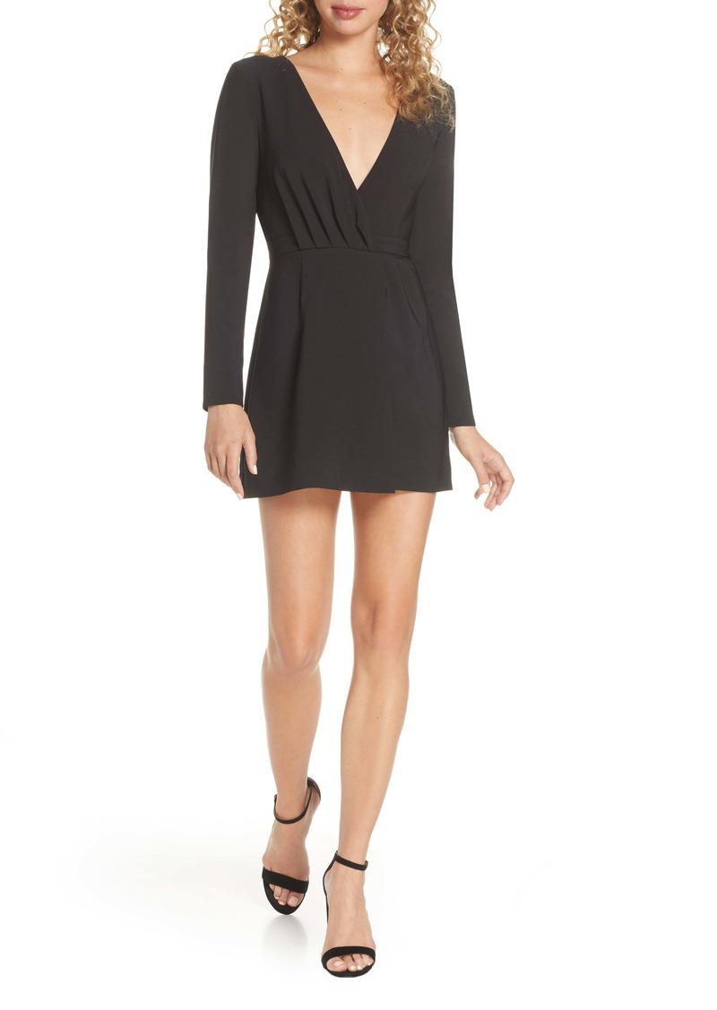findersKEEPERS Finders Keepers Victoria Long Sleeve Minidress