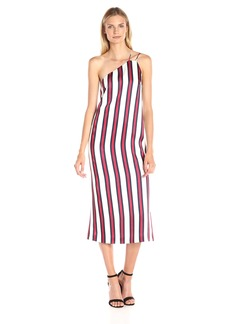 findersKEEPERS Women More Time One Shoulder Midi Slip Dress