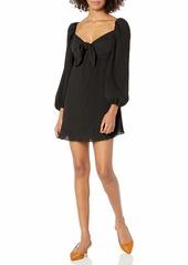 findersKEEPERS Women's Adeline Long Sleeve Babydoll Mini Dress  s