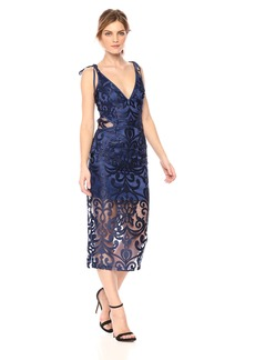 findersKEEPERS Women's Alchemy Lace Midi Dress  S