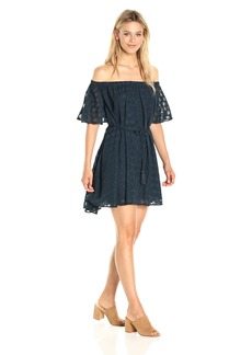 findersKEEPERS Women's Ascot Ruffle Dress  L