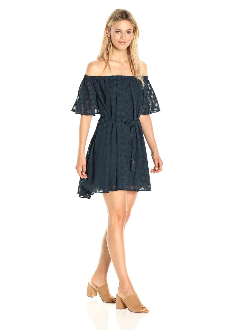 findersKEEPERS Women's Ascot Ruffle Dress  L