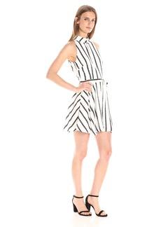 findersKEEPERS Women's Carlos Short Sleeve Dress  M