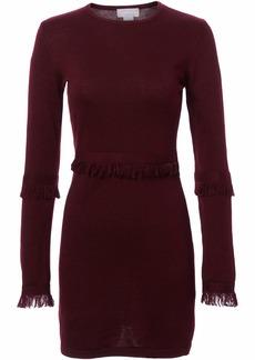findersKEEPERS Women's Frankie Fringe Shift Dress fig