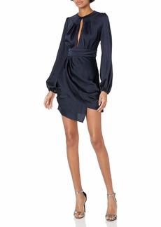 findersKEEPERS Women's Gabrielle Long Sleeve Mini Dress  L
