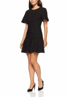 findersKEEPERS Women's Immortal Crew Neck Short Sleeve Fit and Flare Mini Dress  M