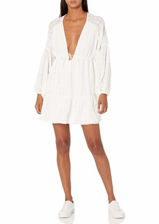 findersKEEPERS Women's Long Sleeve Lucietti Mini Dress  S