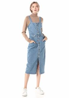 findersKEEPERS Women's MIA Sleeveless Denim Buttondown MIDI Dress  s