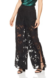 findersKEEPERS Women's Midnight Lace Pant with Slits  XL