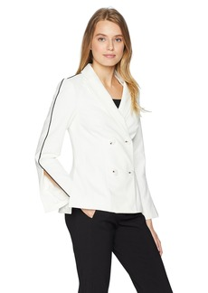 findersKEEPERS Women's Mila Double Breasted Tailored Blazer  S