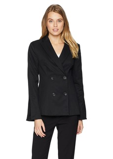 findersKEEPERS Women's Mila Double Breasted Tailored Blazer  XL