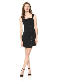 findersKEEPERS Women's Mila Sleeveless Button Detail MIDI Dress  M
