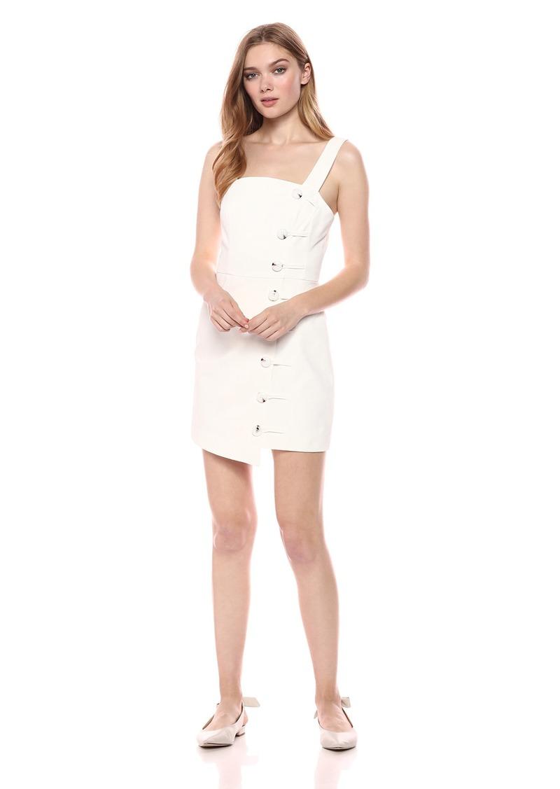 findersKEEPERS Women's Mila Sleeveless Button Detail MIDI Dress  XL