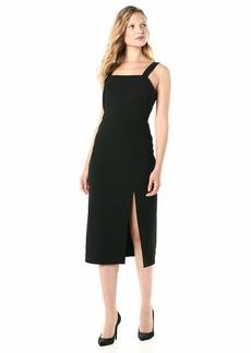 findersKEEPERS Women's Palermo Sleeveless MIDI Sheath Dress with Slit  l