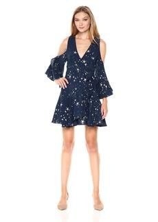 findersKEEPERS Women's Patience Wrap Dress  M