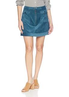 findersKEEPERS Women's Prisms Corduroy Mini Skirt  L