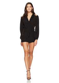 findersKEEPERS Women's Raphael Wrap Playsuit  L