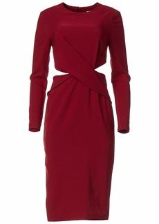 findersKEEPERS Women's Revolution Long Sleeve Cut Out Sheath Dress  L