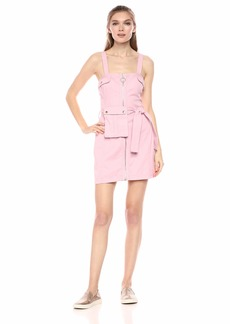 findersKEEPERS Women's Sleeveless Casual Short Fashion Mini Dress Pink - mesa s