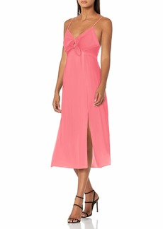 findersKEEPERS Women's Sleeveless V-Neck Sally Cut-Out Midi Dress  L
