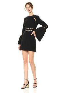 findersKEEPERS Women's Solar Bell Sleeve Mini Dress