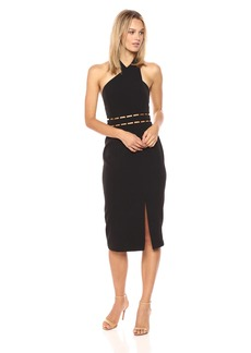 findersKEEPERS Women's Solar Halter Midi Dress