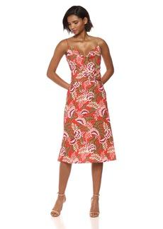 findersKEEPERS Women's Songbird Sleeveless Sheath Midi Dress  M