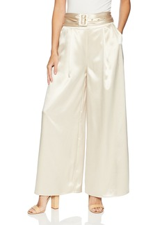 findersKEEPERS Women's Songbird Wide Leg Belted Pant  L